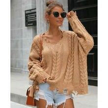 Meihuida осенний женский свободный пуловер однотонные свитеры с длинными рукавами вязаное пальто с кружевом вязаным крючком верхняя одежда