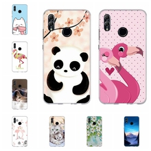For Huawei Honor 6A 8X Case Soft TPU Silicone 9 Lite Cover Flamingo Patterned 10 Funda