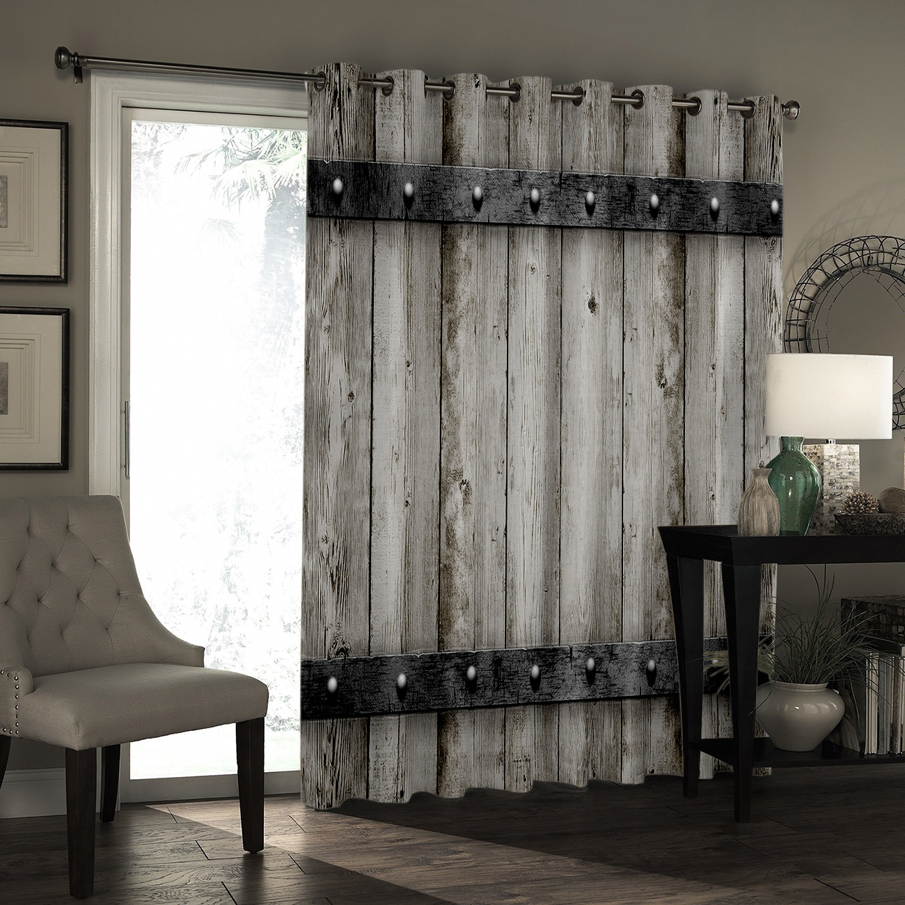Wood Metal Window Treatments Curtains Valance Window Blinds Living Room  Bedroom Fabric Decor Window Treatment Ideas Curtains