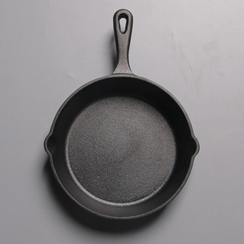Not Sticky Frying Pan Cast Iron Pan Stone Layer Frying Pot Saucepan Cooker Egg Pancake Pot Use Gas And Induction Cookware