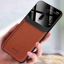Для Xiaomi mi 9T Pro чехол Роскошный противоударный Красный mi K20 K30 pro Чехол mi CC9 pro TPU бампер кожаный чехол красный mi Note 8T 7 pro Чехол