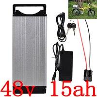 48 V 1000 ワットバッテリー 48 V 15AH リチウムバッテリー 48 12v 16ah 電動自転車バッテリー 30A BMS と 54.6 V 2A 充電器送料無料 -