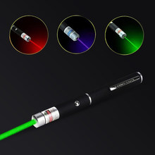 Ponteiro de visão laser 5mw alta potência verde azul vermelho dot laser luz caneta poderoso laser medidor 405nm 530nm 650nm luz lazer