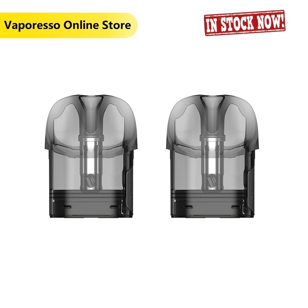 Original Vaporesso OSMALL Pod Cartridge 2ml 2pcs/pack With 1.2ohm Coil Head & Flax Cotton Purer Flavor For Vaporesso OSMALL Kit