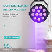 36W UV Sterilizing Lamp UVC Ultraviolet Germicidal Disinfection Light LED Ultraviolet Sterilizer Bacterial Kill Mite Home Lamp