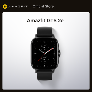 2021 New Global Amazfit GTS 2e Smartwatch 24H Heart Rate 90 Sports Modes 5 ATM 24 Days Battery Life Smart Watch for Android