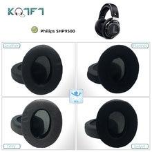 Kqtft 1 пара сменных амбушюр для philips shp9500 shp 9500 гарнитура
