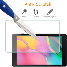 Cover Screen-Protector Tab A7 Galaxy Samsung Glass S5E A 8.0 for S4 S6 Tab-S7/tab-E