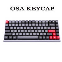 MP DOLCH 166 KEYS OSA PBT DOUBLE SHOT Keycap FOR Cherry MX switch keycaps for Wired USB Mechanical Gaming keyboard
