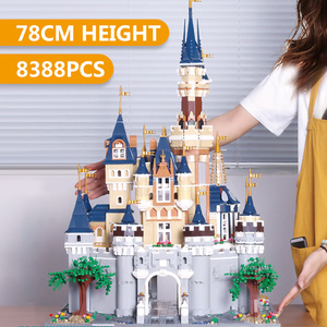 Image 4 - Mould King 13132 Toys Compatible With 71040 Cinderella Princess Castle Model Building Block Kids Toys Gifts Kids Christmas Toys