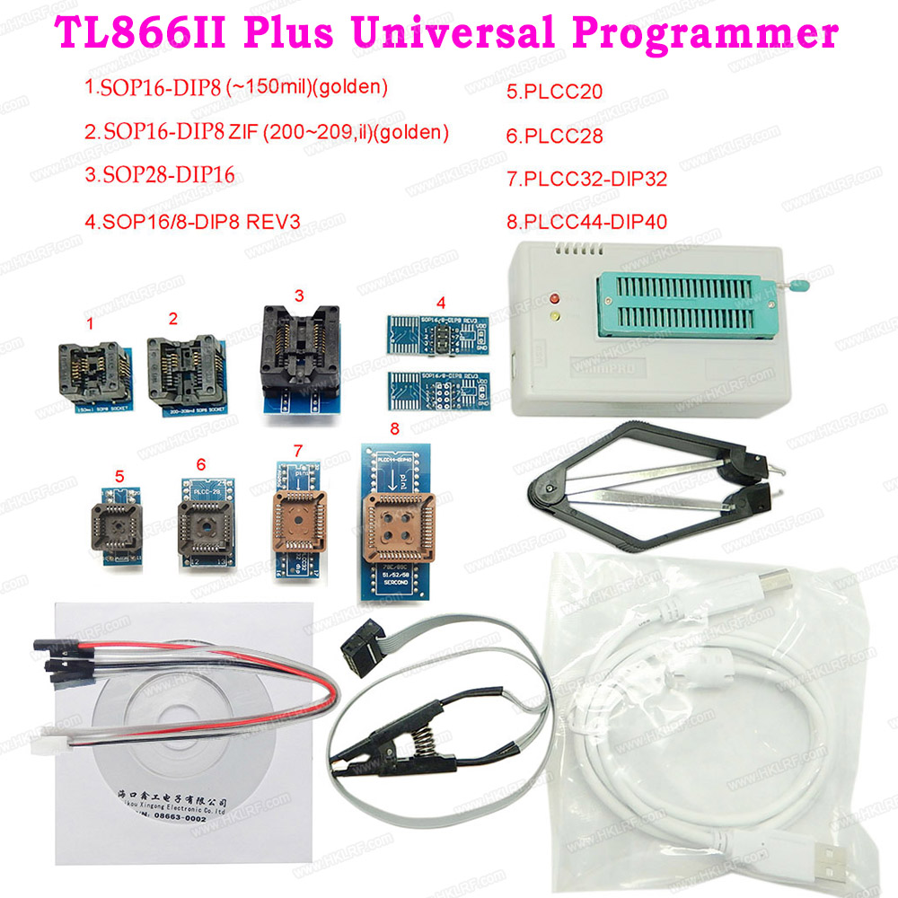 Minipro TL866II Plus Universal Programmer PIC AVR High Speed 