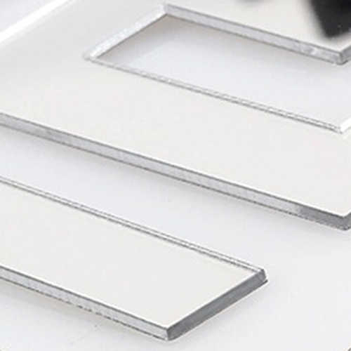 جديد 100 قطعة 2x2 سنتيمتر الاكريليك 3D جدارية الجدار ملصق فسيفساء مرآة تأثير غرفة DIY مربع الديكور سهلة لإزالة دون آثار
