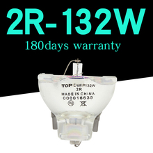 1 sztuk/partia 2R 132w oświetlenie punktowe/ruchoma głowica światło punktowe 2R MSD Platinum światło sceniczne lampa sceniczna