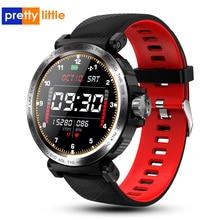 S18 מלא מסך מגע חכם שעון IP68 עמיד למים גברים ספורט שעון קצב לב צג Smartwatch עבור IOS אנדרואיד טלפון