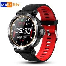 S18 pełnoekranowy dotykowy inteligentny zegarek IP68 wodoodporny mężczyzna zegar sportowy pulsometr Smartwatch dla IOS telefon z systemem Android