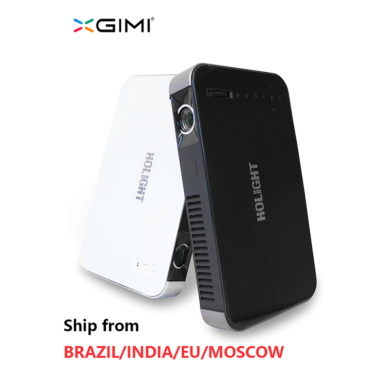 Holight 27M XGIMI Z3 Volle HD tragbare DLP mini projektor 3D <font><b>proyector</b></font> led <font><b>tv</b></font> beamer Build-in batterie WIFI Android 4,4 Bluetooth image