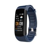 Braccialetto Fitness Ip67 impermeabile Sport Fitness Tracker pressione sanguigna pedometro frequenza cardiaca Smart Band Watch per Android per IOS