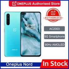 Original versión Global OnePlus Nord 5G Snapdragon 765G teléfono inteligente 8GB 128GB 6,44