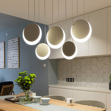 Hanging Deco DIY Modern Led Pendant Chandelier For Dining Room Kitchen Room Bar suspension luminaire suspendu Pendant Chandelier