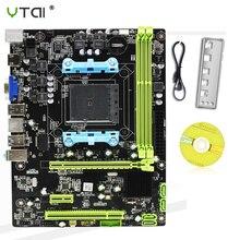А88 рабочего стола материнская плата сокет FМ2/процессоры FM2+DDR3 на 16 ГБ АМД м-ATX поддержка А10 А8 А6 А4 Athlon2 X4 для 880K интегрированной графикой материнская плата
