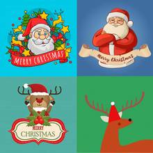 New Arrivals Diamond Painting Christmas Santa Claus Elk Cartoon Round Embroidery Decorations for Home