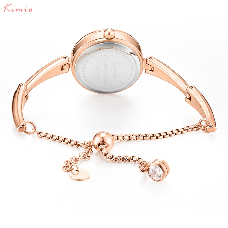 Hot DealsîKIMIO Women Watches Minimalism-Design Ladies Bracelet Quartz Femme Montres Relojes-De-Mujer