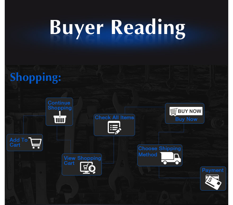 AI-ROAD Water Pipe Wrench buyer reading