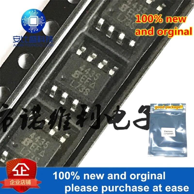 10pcs 100% New And Orginal SI4435DY-T1-E3 SOP-8 SI4435 4435 30V 8A In Stock