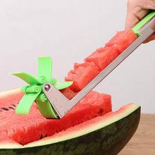 Cortador de fatiador de melancia pinças corer frutas melão aço inoxidável ferramentas nova melancia corte refrescante melancia cubos cozinha