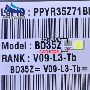 Image 1 - 1000 LG バックライト 2 ワット 6V 3535 クールホワイト Lcd バックライトテレビ Tv アプリケーションスタイル  2
