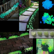 glow in the dark stones garden decoration luminous stone glow in dark glowing dark garden decor 100g/lot free shipping free shipping oktoberfest events 11 5ft led glow in the dark inflatable lighting can model for toys