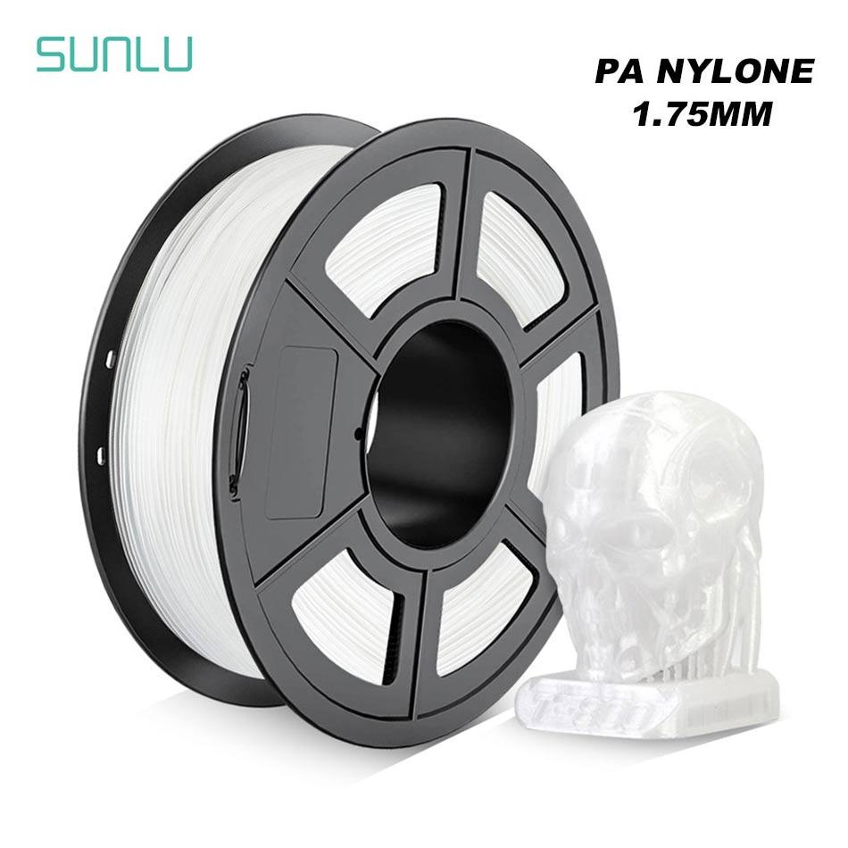 3d Printer Filament PA Nylon V2 1.75mm/3.0mm 1KG With Spool High Toughness Material Printing Vas Lampshade