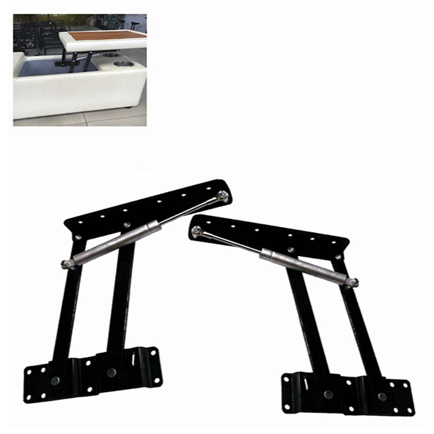 Manufacturers Direct Selling White Extendable Zhe Die Jiao Qi Dong Gan Coffee Table Teapoy Table Lifting Frame A02-1