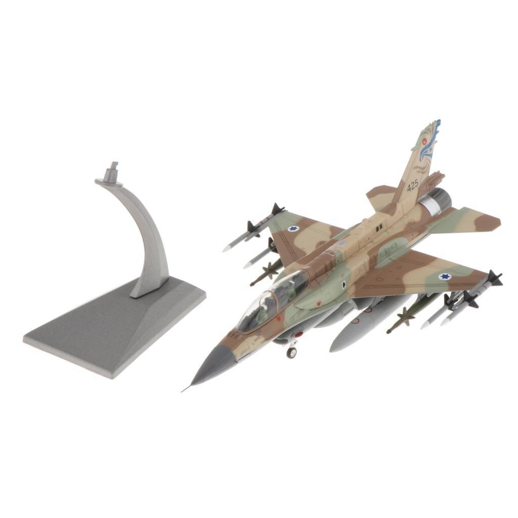 Самолет Модель F-16I боев Сокол израильская армия самолетов литье под давлением 1:72 металлические самолеты w/подставки