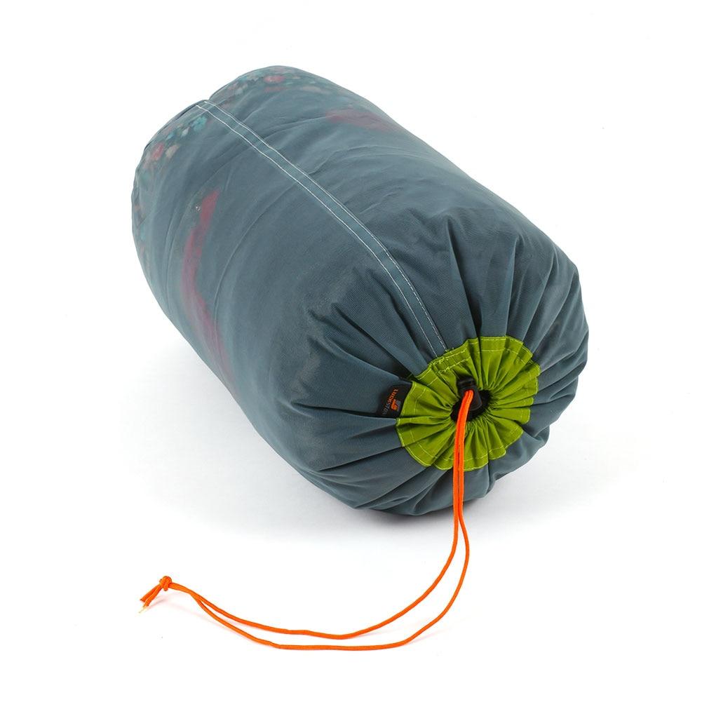 Camping Hiking Ultralight Mesh Stuff Sack Drawstring Bag Outdoor Green L