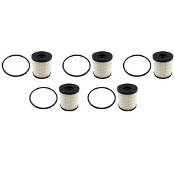 NEW-5Pcs filtr oleju samochodowego dla Peugeot 307 206 207 408 508 dla citroen elysee Picasso C2 C5 1109.3X