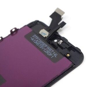 Image 4 - PINZHENG AAAA orijinal LCD iPhone 5 5S 5C SE ekran dokunmatik ekran Digitizer değiştirin iPhone 5 5S 5C SE yedek ekran