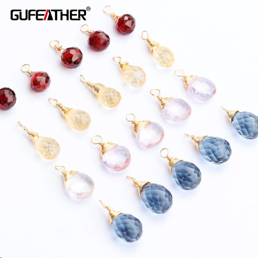 GUFEATHER M550,jewelry Accessories,natural Gemstone,hand Made,diy Crystal Earrings,diy Accessories,jewelry Making,6pcs/lot
