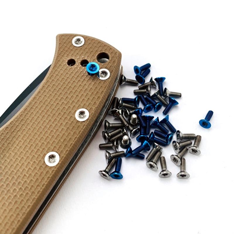 Knife CQC Screw Emerson CQC7 Handle Screw Titanium T8 Torx Screws For Commander&Rangemaster Sheepdog