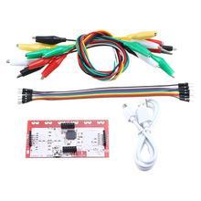 Детский подарок Makey основная плата управления комплект с usb-кабелем 9,4 см x 4,8 см для Makey практичный инновационный прочный