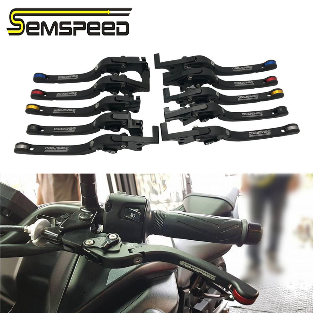 CNC Motorcycle Folding Brake Clutch Levers For <font><b>Honda</b></font> CB600F CB <font><b>600</b></font> F <font><b>Hornet</b></font> 2007-2013 2008 <font><b>2009</b></font> 2010 2011 2012 CBR600F 2011-2013 image