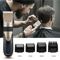 Professional Hair Trimmer Digital Usb Rechargeable Hair Clipper for Men Haircut Ceramic Blade Razor Hair Cutter Barber Machine