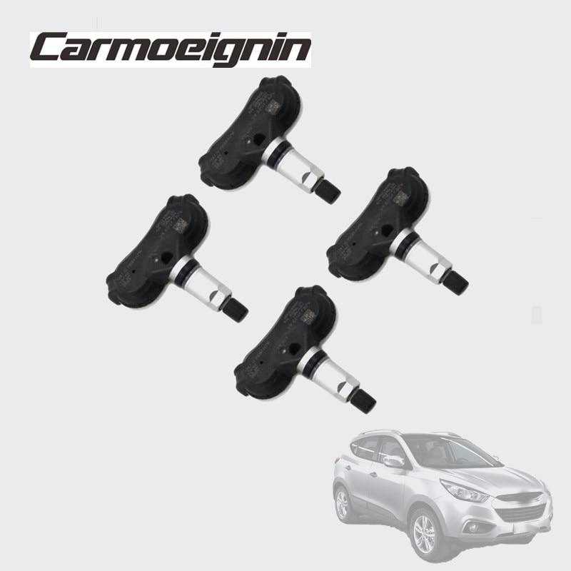 4 PCS 434Mhz Tire Pressure Monitor System Sensor 52933-3M000 For Hyundai I40 Tucson 2010-2014 Kia Sportage IX35 529333M000