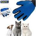 Щетка для груминга кошек и домашних животных, перчатки для вычесывания, Эффективная очистка, массаж спины, купание животных, удаление шерст...