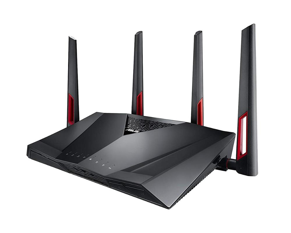 TOP 5 Best ASUS RT-AC88U AC3100 Dual Band Gigabit <font><b>WiFi</b></font> Gaming 4K Router with MU-MIMO, AiMesh, 3167Mbps, Upgradable Merlin System image