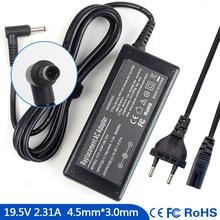 19.5V Notebook Ac Carregador Adaptador para HP Dividir 13 2.31A 13-m110dx 13-g110dx 13-m010dx 13-G010DX 13t-4100 13-g