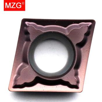 Free Shipping MZG CCMT060204 CCMT09T308 CCMT09T304 MSF Boring Turning CNC Stainless Steel Cutting Tools Tungsten Carbide Inserts ccmt09t308 mt ct3000 cermet inserts carbide alloy cutter boring cnc lathe turning tools machining steel