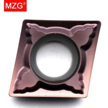 จัดส่งฟรี MZG CCMT060204 CCMT09T308 CCMT09T304 MSF หมุน CNC สแตนเลสตัดเครื่องมือทังสเตนคาร์ไบด์แทรก