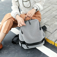 2020 Women's Canvas Backpack Large Capacity Breathable Lightweight Travel Bag Personality Backpack Anti-theft Rucksack