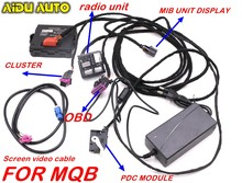 Модуль радиоприемника MIB 2 PRO PDC, тестовые кодовые инструменты для VW CAR MQB PQ35 46 RCD510 RCD330 RNS510 187A 187B